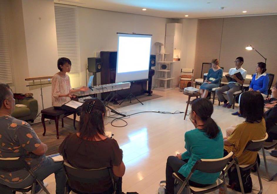 マインドフルネス音楽療法体験会 開催しました。次回は9月!
